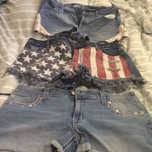 Pants - Three pairs of shorts size 16, selling together